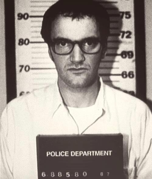 Quentin Tarantino in jail mugshot foto segnaletica cult stories movies pulp fiction oscar quotes uma thurman books all movies autobiography best director breaking bad horror movie house interstellar quito robert rodriguez robert de niro soundtracks style sin city screenplays script songs simpsons star wars 4 rooms 50th birthday 5 best movies top 5 characters 8 movies