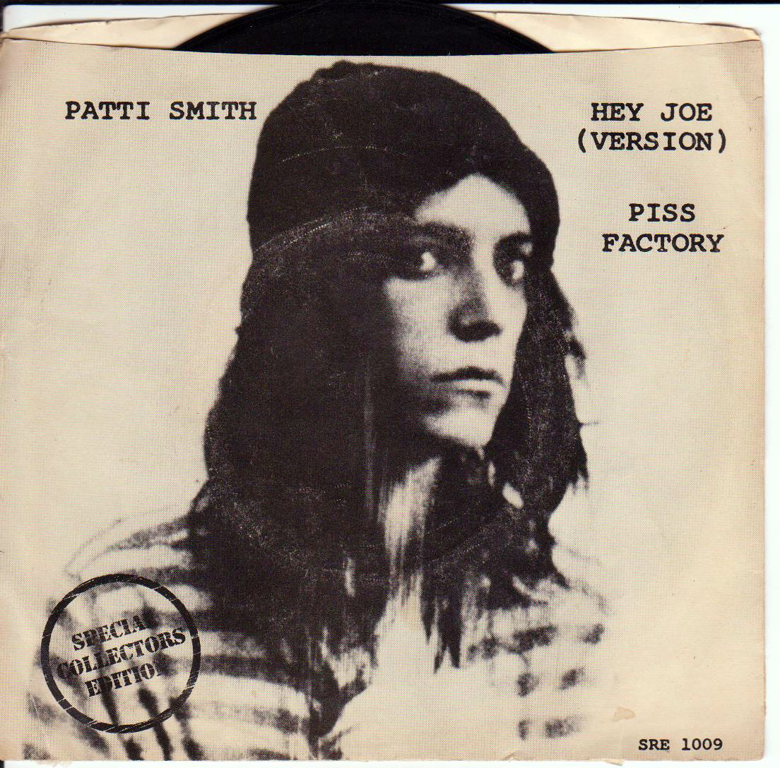.. .. .. patti smith hey joe piss factory rock