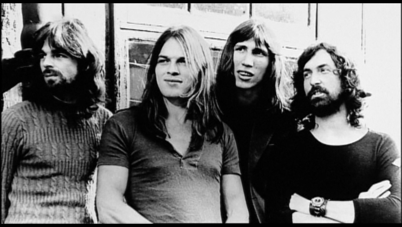 I Pink Floyd, fra i musicisti più influenti di tutti i tempi, nonché autori di pietre miliari del rock come 'The Dark Side of the Moon' e 'The Wall'.