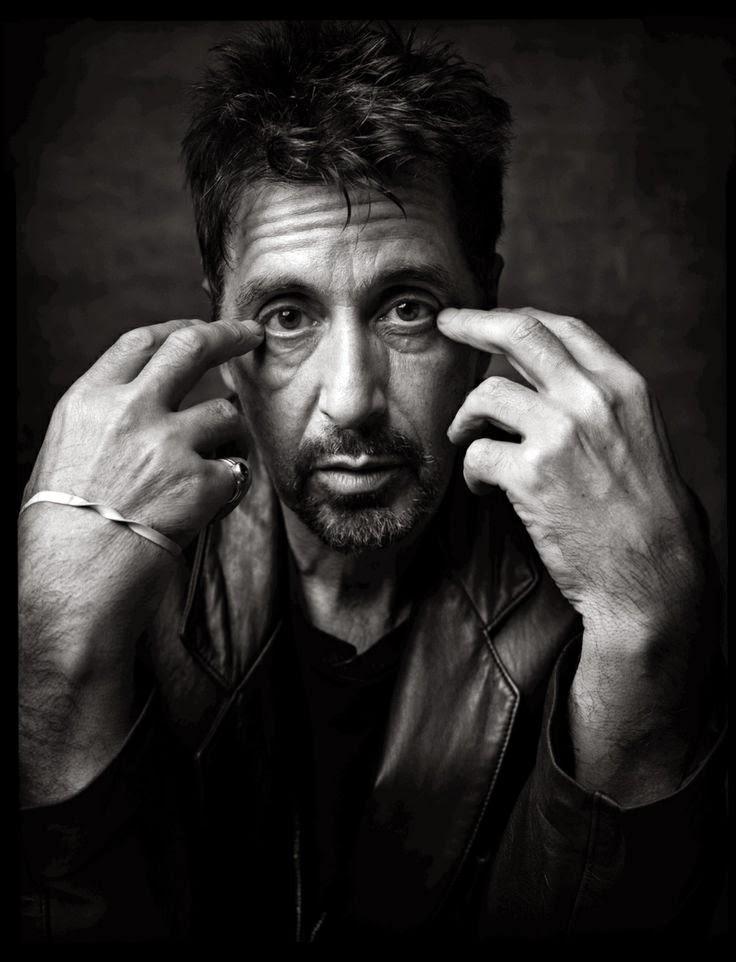 Ritratto di Al Pacino del fotografo Mark Seliger (1999). l'avvocato del diavolo al pacino cinema cult stories ipse dixit aforisma citazioni cultstories foto keanu reeves
