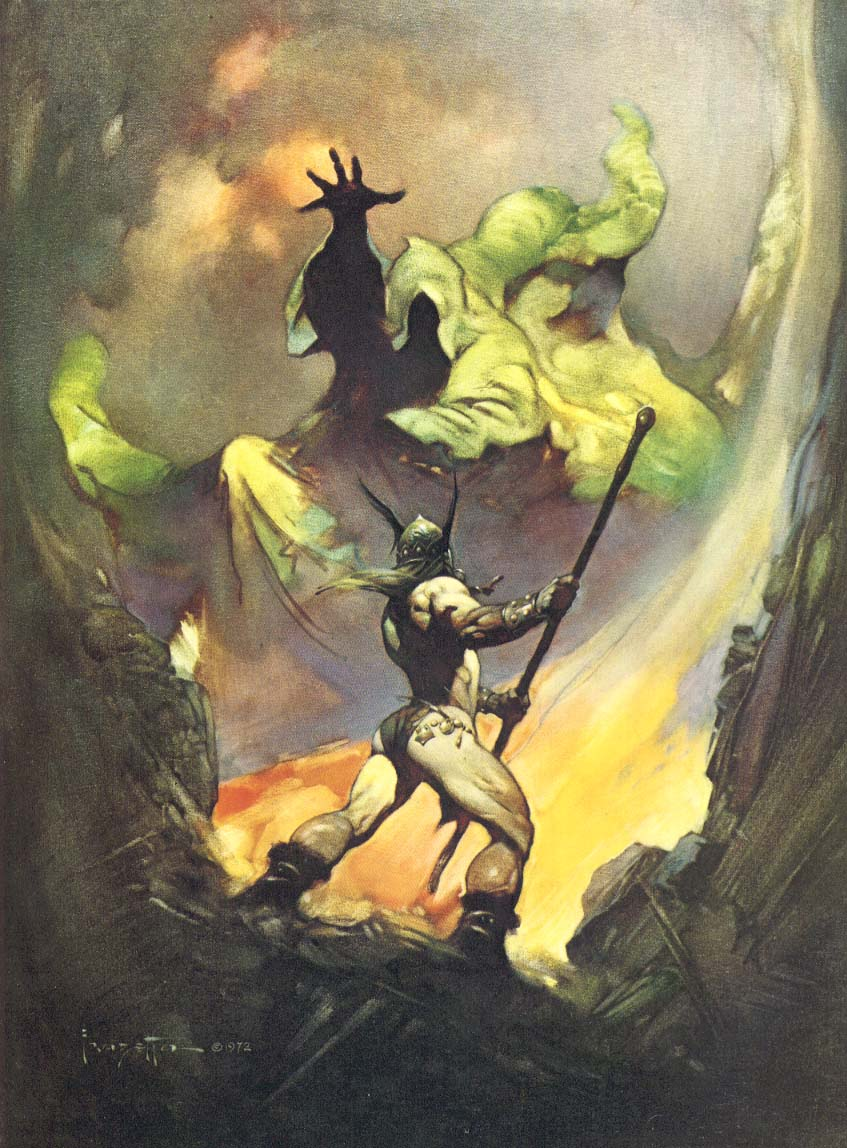 Frank Frazetta, The Norseman