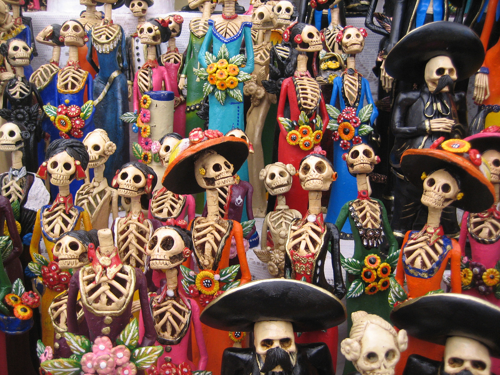 Dia de los Muertos Calaveras Cult Stories mexico messico scheletri teschi skulls celebrations