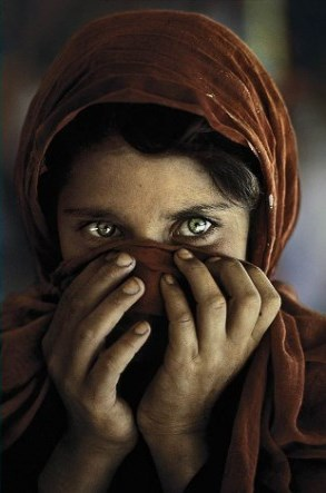 The Afghan Girl, la foto scartata all'ultimo momento