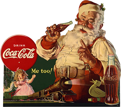 Santa Claus Coca Cola cult stories