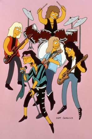 The simpsons, Aerosmith