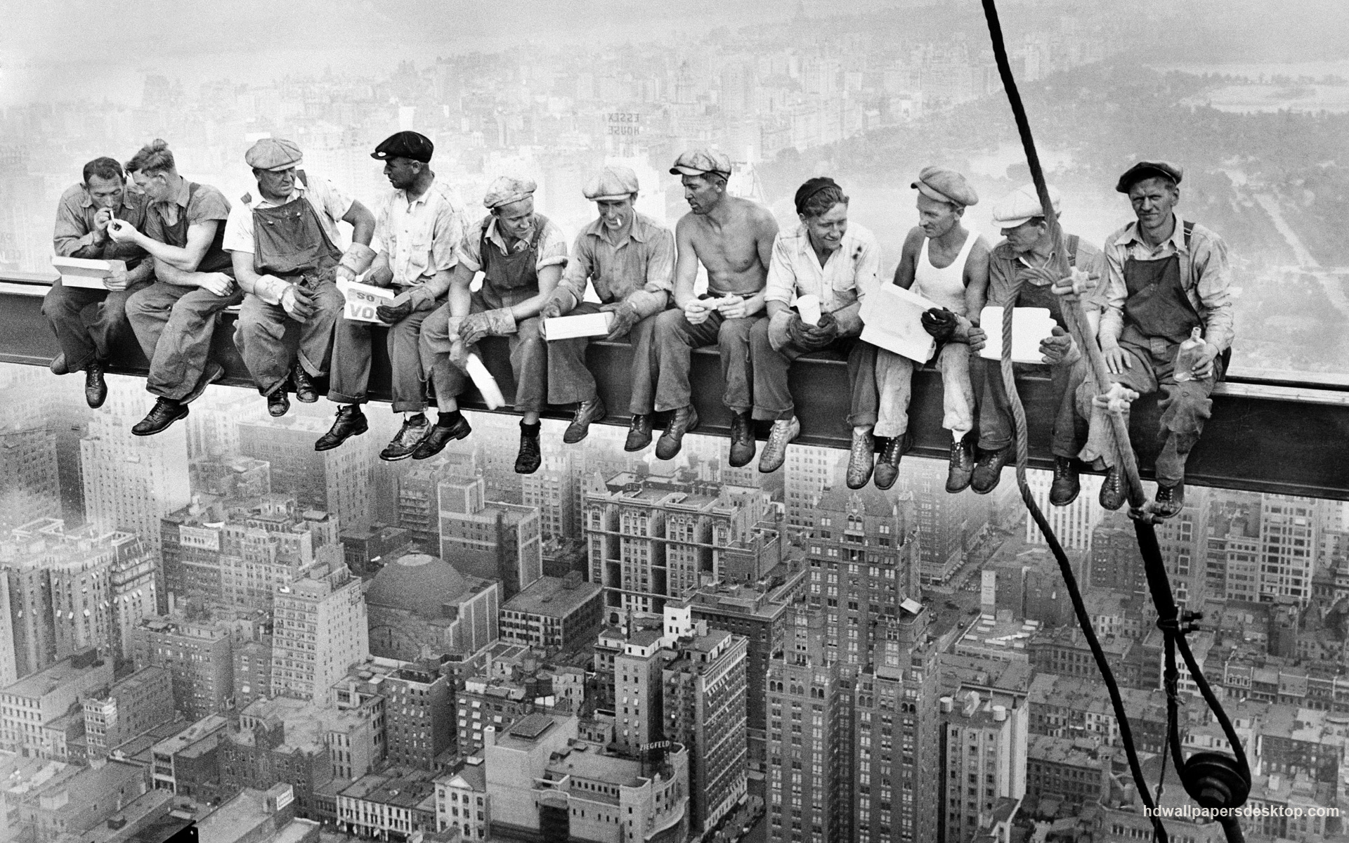 Charles C. Ebbets - Lunch atop a Skyscraper - New York, U.S.A. (1932) most iconic cult photos le foto più cult e famose cultstories cultgalleries