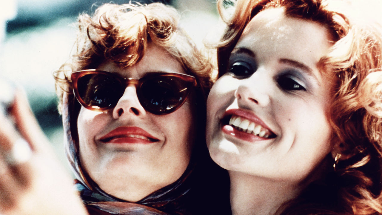 Cult Stories Cinema Susan Sarandon And Geena Davis Thelma And Louise cultstories.altervista.org