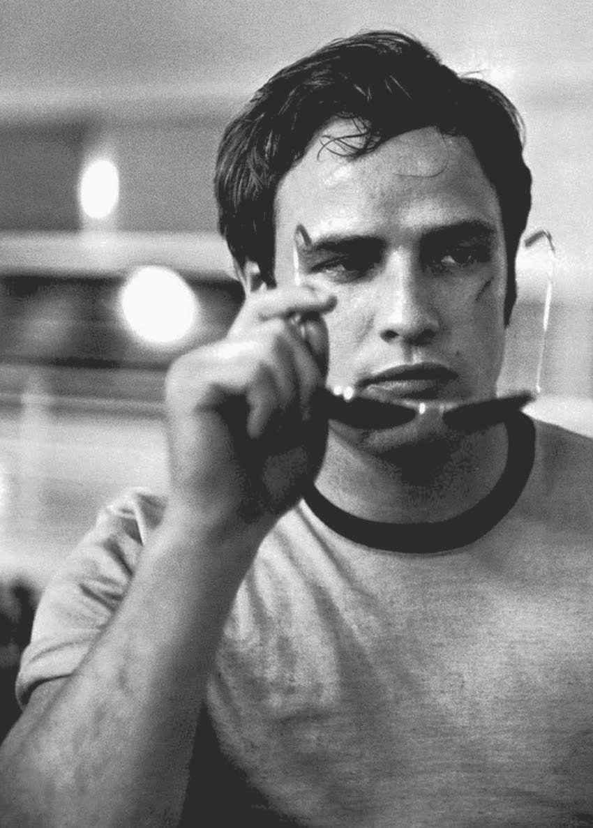 Cult Stories Marlon Brando photographed by phil stern