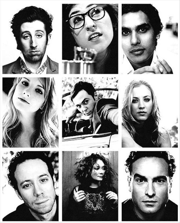 Cult Stories The big bang theory cast members foto attori tv series cultstories