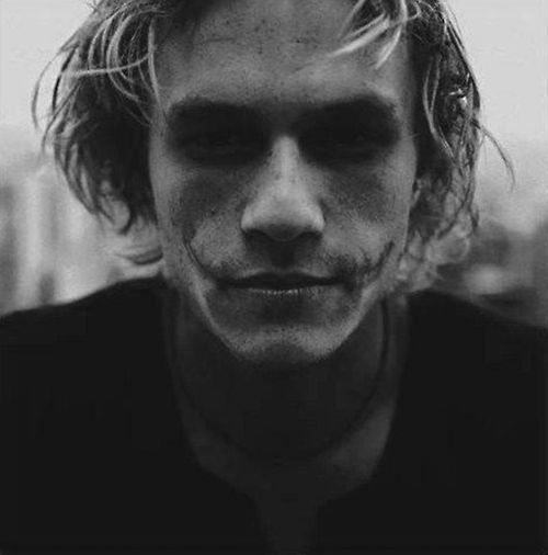 Cult Stories dark Heath Ledger Joker Batman cinema suicide blog