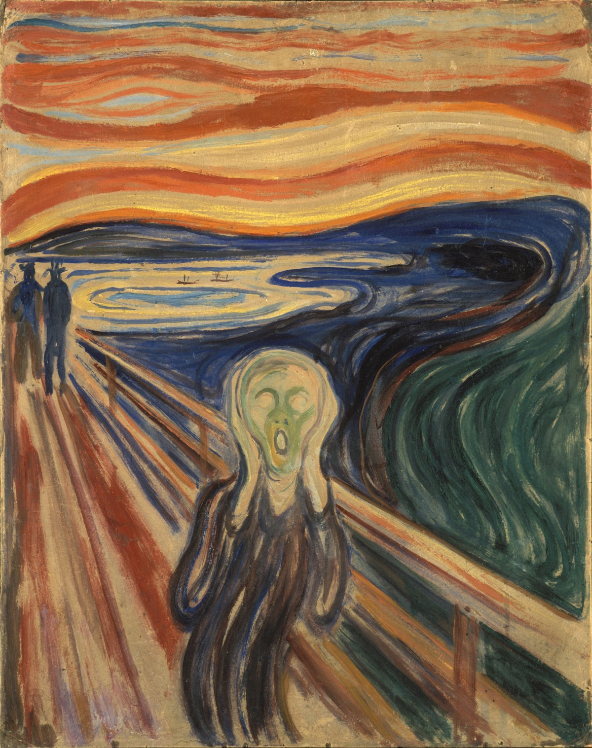 Cult stories Edvard Munch The Scream painting art modern man anxiety Norway