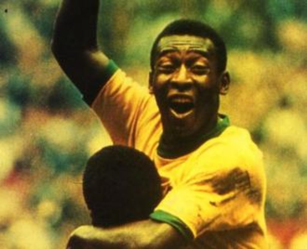 Cult stories pelè football king brazil 10 central soccer calcio sport Edson Arantes do Nascimento