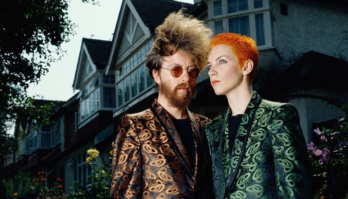 Eurythmics David Stewart Annie Lennox cult british synth pop duo music musica cultstories.altervista.org