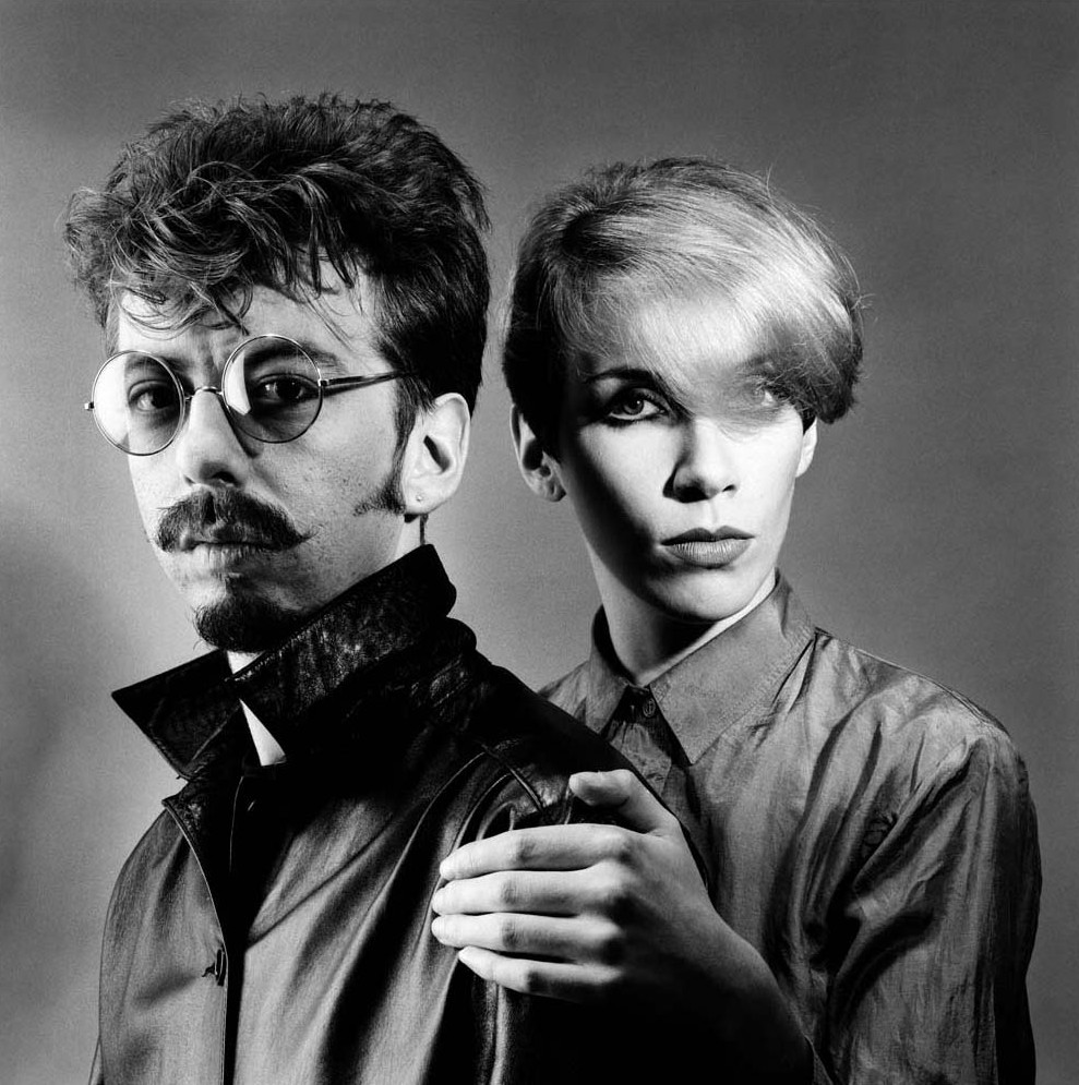 Eurythmics by Gered Mankowitz cult band musica music electro pop new wave cultstories.atervista.org