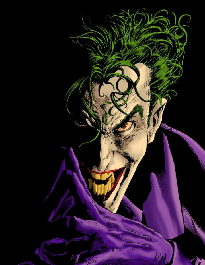 Joker, by Mike Deodato jr. ( in: ' CULTPHOTOS ')