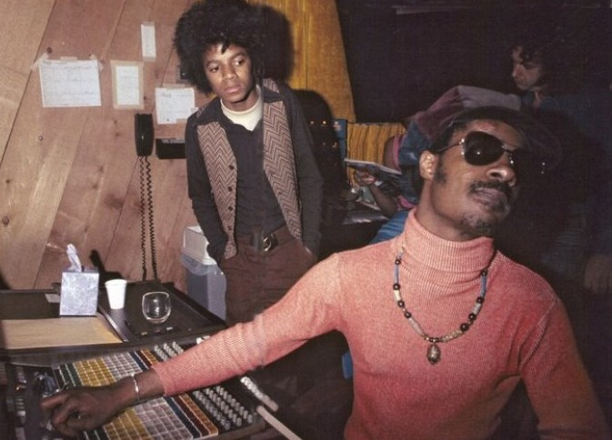 Michael Young Jackson and Stevie Wonder cult pop soul blsck music cultstories.altervista.org