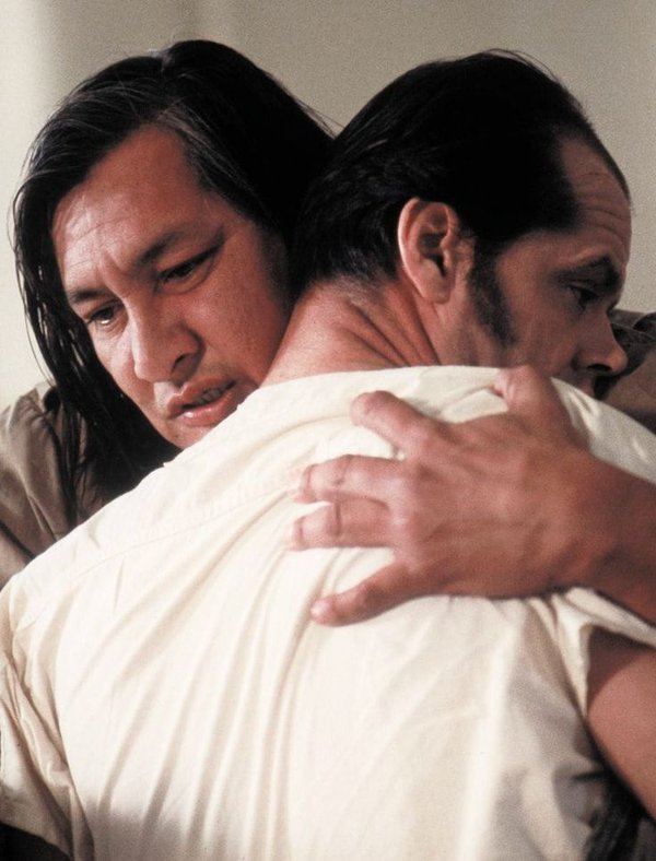 One Flew Over the Cuckoo's Nest Qualcuno volò sul nido del cuculo cult cinema Jack Nicholson Randle Patrick McMurphy Will Sampson Great Chief Bromden cult stories cultstories.altervista.org