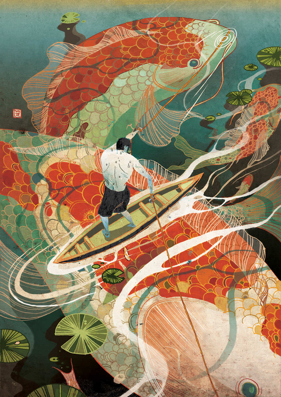 Victo Ngai Tough Choice cult illustration art cult stories arte illustrazione