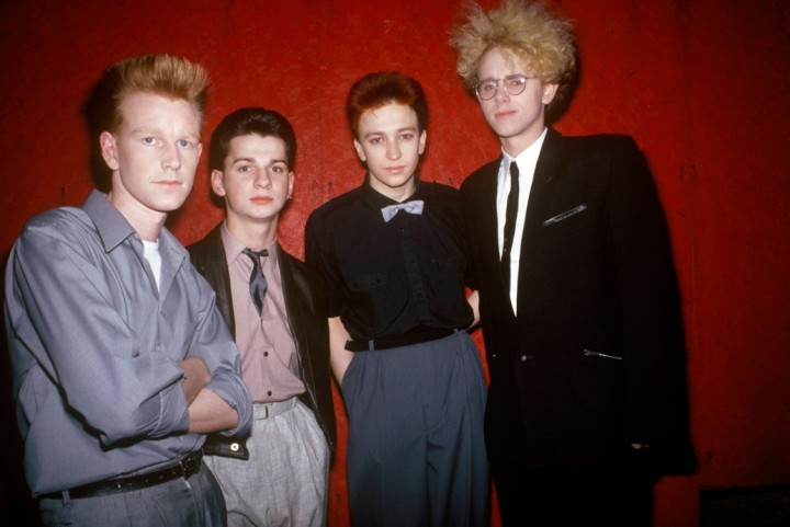 Depeche Mode, early years ( in: ' CULTPHOTOS ')