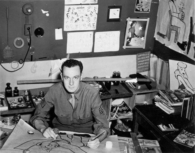 Stanley Martin Lieber, per tutti Stan Lee, al lavoro per la Timely Comics (la futura Marvel Comics). Il creatore di Spider Man, degli Avengers e di numerosi altri supereroi, ha prestato servizio negli Army's Signal Corps (i reparti di comunicazione dell'esercito americano), realizzando spot propagandistici durante la seconda guerra mondiale.. Young Stan Lee Timely Comics american army cult stories superheroes marvel comics cultstories.altervista.org comics superheroes stan lee marvel spider man avengers thor iron man fumetto uomo ragno ant man scarlett johansson cult stories cultstories cinema cult story cultstory art culture music ipse dixit aneddoti citazioni frasi famose aforismi immagini foto personaggi cultura musica storie facts fatti celebrità vip cult spettacoli live performance concerto photo photography celebrity giornalismo scrittura libri genio pop icon attore cantante solista pittrice scultore attrice star diva sex symbol mito