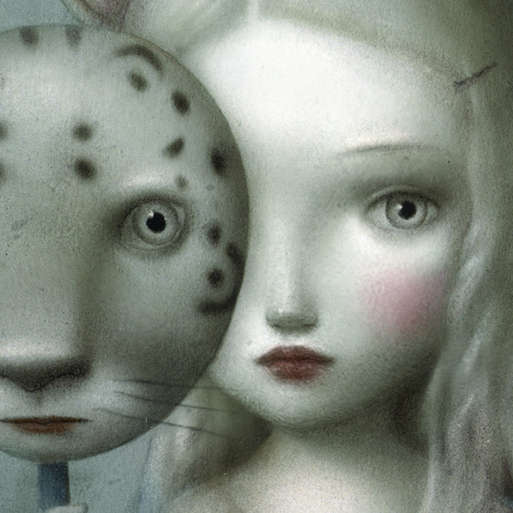 Nicoletta Ceccoli's artwork. Un'opera dell'illustratrice sammarinese Nicoletta Ceccoli. art, fiaba, fairytale, princess, principessa, cult stories cultstories cinema cult story cultstory art culture music ipse dixit aneddoti citazioni frasi famose aforismi immagini foto personaggi cultura musica storie facts fatti celebrità vip cultdream, sogno, arti st,